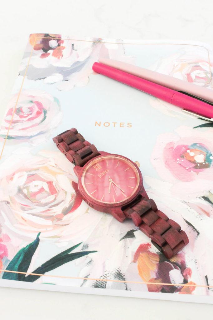 Luxury Wood Watch from JORD Frankie style -