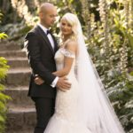 Real Wedding Belinda and michales all white wedding 6 - See all the beautiful details on B. Lovely Events! #wedding #realwedding #weddingideas #weddingtips #weddingdecorations