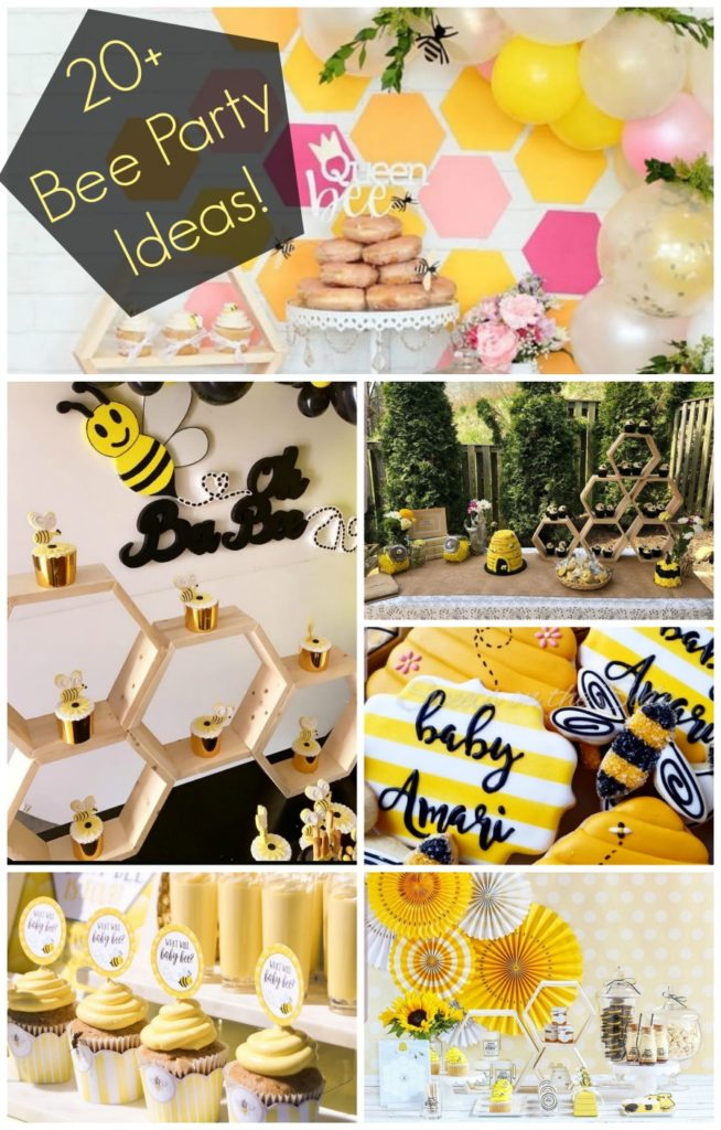 20+ Bee Party Ideas! - B. Lovely Events