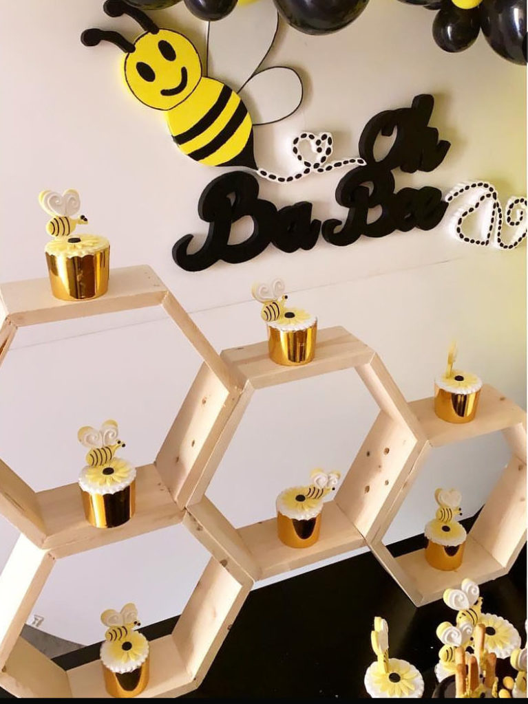 Oh Bay-bee bee baby shower party!- See More Bee Party Ideas at B. Lovely Events