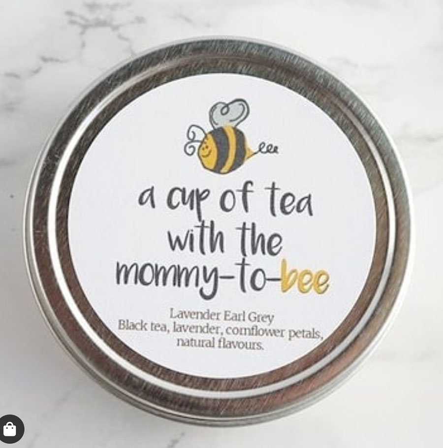 Such a cute bee favor for a baby shower! - See More Bee Party Ideas at B. Lovely Events
