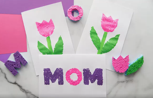 DIY Mother's Day Gifts -Mom Card