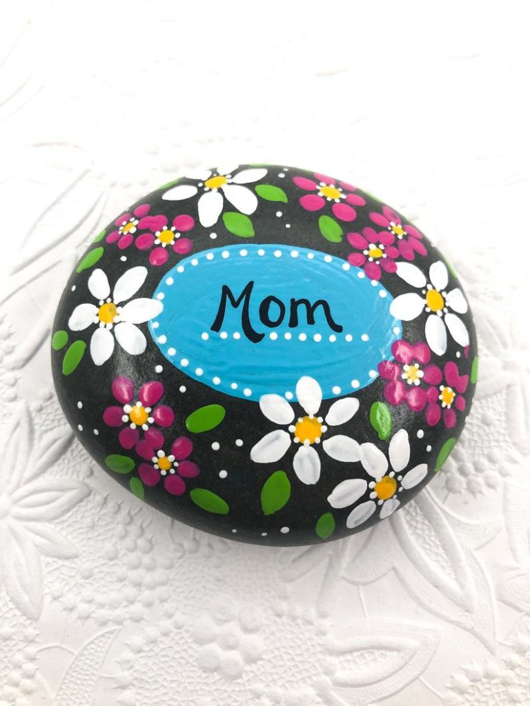 DIY Mother's Day Gifts- Painted Rock