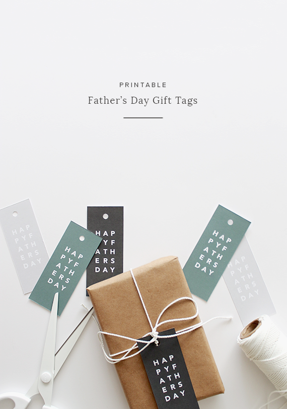 Free printable Father's Day Gift Tag See them all at B. Lovely Events #fathersday