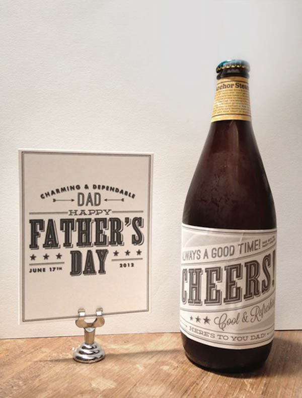 Beer Ideas For Dad! - B. Lovely Events