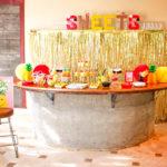 Sweets Bar At Flamingo Party