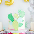 Love this cactus cake so much! - See Lovely & Fun Cactus Ideas on B. Lovely Events