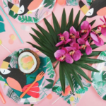 Toucan party plates! - See More Toucan Party Ideas at B. Lovely Events
