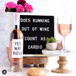Yes way Rosé! Love this wine bottle!- See our favorite Rosé Party Ideas on B. Lovely Events!