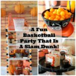 A Fun Basketball Party That Is A Slam Dunk! #basketball #basketballparty